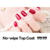 Cheap 15ml Shinning Soak Off UV Top Coat For Natural Nails Customized Color for sale