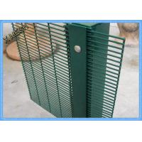 Quality Garden Yard Security Welded Metal Fence Panels 3meter Height Anti Climb wholesale
