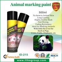 Buy cheap Livestock / Animal Marking Spray Paint 750ml , High Reflective Spray Paint ISO / CE from wholesalers