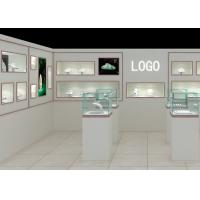 Modern Fashion Style Wall Mounted Display Case For Jewelry Shop Display