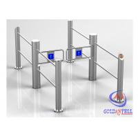Cheap Automatic Flexible Running Swing Turnstile Durable Stainless Steel for Stores , Supermarket for sale