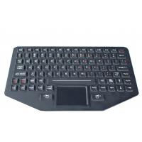 Cheap 89 key Silicone backlit  ruggedized keyboard with sealed touchpad , optional trackball for sale