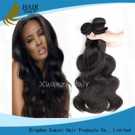 Cheap Loose Wave Virgin Peruvian Hair Bundles Grade 7A , Malaysian Body Wave Hair Weave for sale
