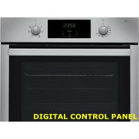 Touch Button FSTN LCD Electric Stove Control Panel Easy Clean With Manual Input