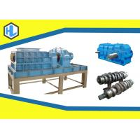 Blue Color Organic Waste Shredder , Garden / Yard Leaves Shredder Machine