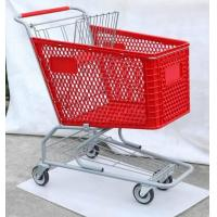 Cheap Plastic Trolley, American Type Shopping Cart, Supermarket Trolley ,Shopping Trolley ,Hand Trolley for sale