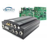 Cheap 1T HDD Car Mobile DVR UPS Tracking 3G Vehicle CCTV 4 Channel Alarm System VW605 for sale