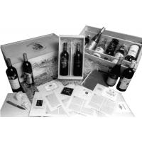 Cheap Blue wine packaging box for sale