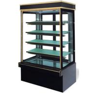 Commercial Vertical Cake Display Fridge / Refrigerated
