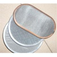 Cheap Stainless Steel Silver Wire Mesh Water Filter Single / Multiple Layers Width Customized for sale