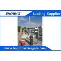 Cheap Intelligent Parking LED Boom Barrier Gate 24VDC 430.5MHz With Auto Close for sale