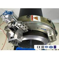 High Strength Electric Pipe Cutting And Beveling Machine OD Mounted Orbital