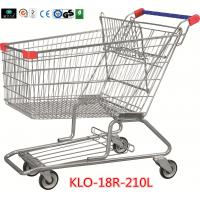 Cheap 210 Litre Grocery Shopping Trolley With Zinc Or E - Coating With Color Powder Coating for sale
