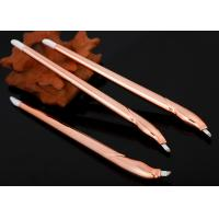 Buy cheap 2018 New Arrival Champagne Disposable Microblading Pen With Blister Packing from wholesalers