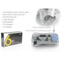 Cheap 6in 1 DRS Dermaroller Kit With 12/300/720/1200 Needles Derma Meso Therapy System Microneedling Roller for sale