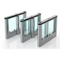 Cheap Luxury High Speed Supermarket Swing Gate , Rfid Card Turnstile Security Systems for sale