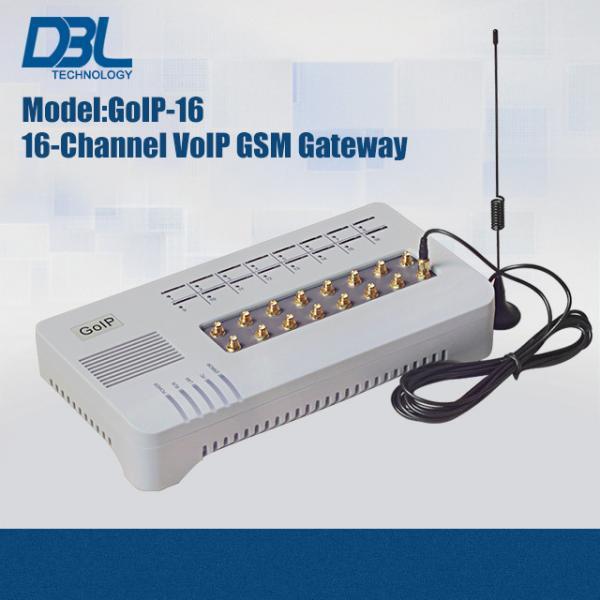 DBL SMS Server GoIP SMS Gateway IETF SIP V2 , 16 Port Sip