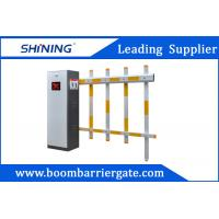 6 Meters Fence Arm Intelligent Automatic Boom Barrier Gate With CE Approval