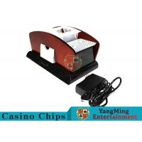 New Style Playing Card Shuffler Machine , Casino Automatic Card Shuffler