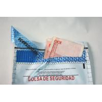 Cheap Waterproof Coin Safe Tamper Evident Security Bags Digital Printing for sale