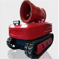 Cheap Protective Fire Fighting Equipment Remote Control Fire Smoke Detection Robot for sale