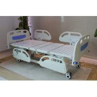 Cheap Five Functions Electric Hospital Bed with PP side rails , Home Care Beds With Individual Locking Casters for sale