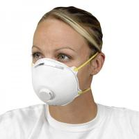 Cheap Non Woven Activated Carbon Respirator N95 , Carbon Filter Dust Mask With Valve for sale
