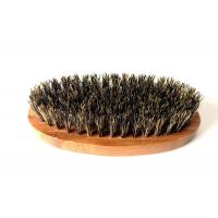 Quality 100% Boar Hair Bristle Bamboo Beard Brush: Military Round Bamboo for Men Brush Strokes. Great... wholesale