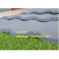 Cheap Flexible Black Classic Stone Coated Steel Roof Tiles 0.45mm Thickness In Kenya for sale