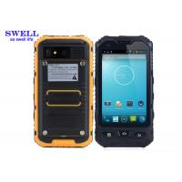 Android 4.2.2 Rugged IP68 Smartphone With NXP544 NFC A8  yellow Black