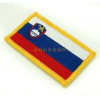3D Clothing Embroidered Patches , Embroidered Hat Patches Small Quantities