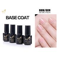 Cheap No Smell No Toxic Free Samples High Glossy Transparet Soak Off UV Gel Base Coat for sale