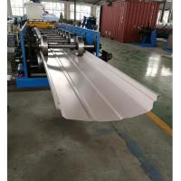 Cheap Adjustable Width Standing Seam Roof Panel Roll Forming Machine With Auto Seamer for sale