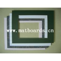 Single Matboard For Photo Frame With Certificate Of Pre
