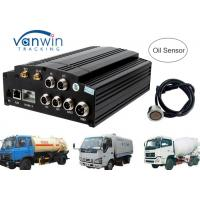 Cheap AHD 720P 960P HDD SD card 3G Mobile DVR / MDVR 4 channel dvr integrate with Oil Sensor for sale