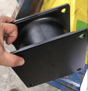 Wheel Loader Anti - vibration Pad Rubber Engine Mounts / Excavator