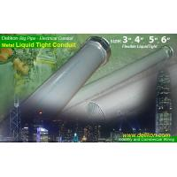 Cheap DELIKON BIG diameter METAL LIQUID TIGHT CONDUIT,  conduit fittings for commercial and industry wiring for sale