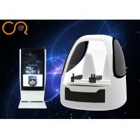 Two Seats 9D Virtual Reality Flying Machine Space Capsule Design With Exciting Games