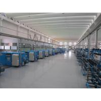 Blue Normal Wire Twisting Machine Double Twist For Bunched Copper Wire Pay Off