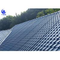 Cheap Anti Corrosion Asa Synthetic Resin Roof Sheet High Pavement Efficiency for sale