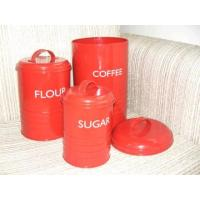 Cheap Set of 3 Cans, Coffee Can (SUN-023) for sale