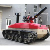 Cheap Explosion Proof Fire Fighting Robot 1.76kw Motor * 2 High Temperature Resistance for sale