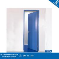 Double Sealing Purified Operating Room Doors GMP Standard Sandwich Panel Door