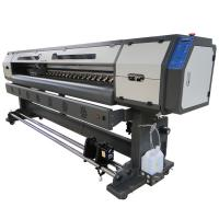 1440 DPI 320cm Eco Solvent Printer , Ultraprint Color Jet Solvent Printer