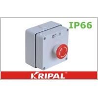 Buy cheap IP66 Weatherproof Outdoor Sockets Push Button Power Control Box from wholesalers