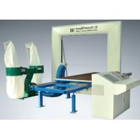 Computerized Five Wheel PU Foam Cutting Machine Complex Pillow Shape 8.5kw