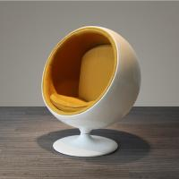 Buy cheap Round shape fiberglasses made living room Chair from wholesalers