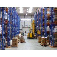 Buy cheap 5 Beam Level Very Narrow Aisle Racking 16.5 FT Height Palletised Warehouse from wholesalers