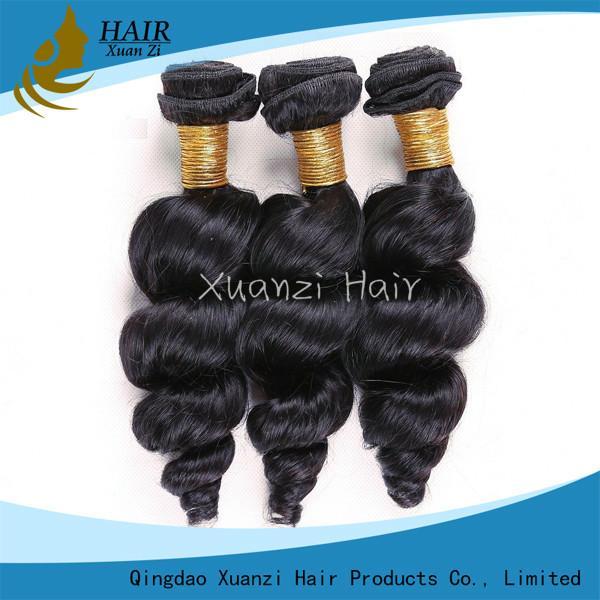 Quality Long Lasting Malaysian Virgin Hair Extensions Loose Wave 100%  Virgin Hair wholesale