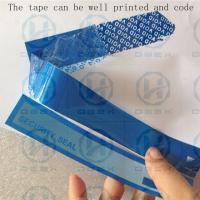 Cheap PET Packing Security Seal Tape One Time Used Transportation Free Shipping for sale